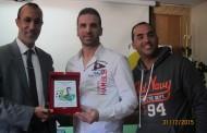 المواطنة تستضيف اللاعب الدولي السابق مصطفى بيضوضان