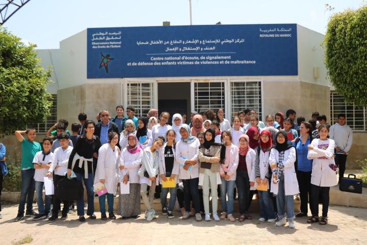 أطفال المواطنة بالمرصد الوطني لحقوق الطفل