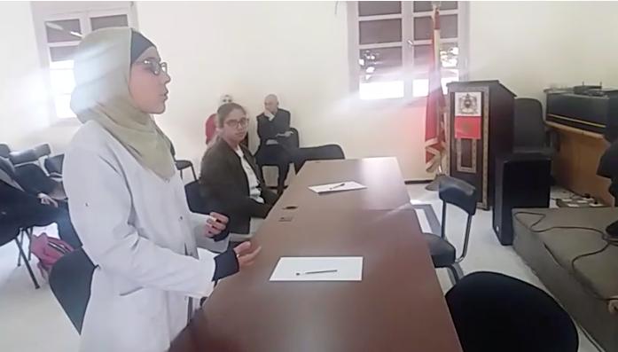 مريم صحيب إلى نهائي المسابقة الوطنية للمباريات اللغوية