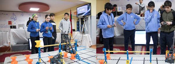 المواطنة تحتضن الجولة الثالثة من المسابقة الجهوية للروبوتيك VEX IQ CHALLENGE