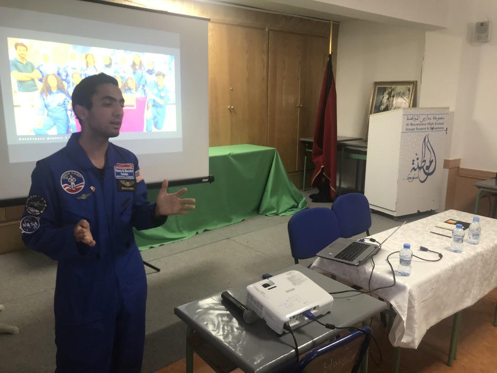 اليوم الثاني من ربيع المواطنة 2019: عروض علمية وضيف من مخيم الفضاء