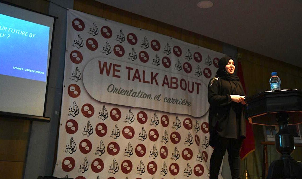 اليوم الثالث من ربيع المواطنة 2019: تلاميذ الأولى باكلوريا يبدعون في إطلاق حدث We Talk About
