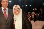 الطفلة البرلمانية نور السحباري بالمؤتمر الوطني لحقوق الطفل