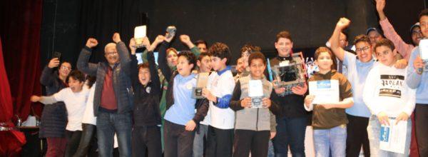 فريقا المواطنة أبطال VEX IQ CHAMPIONSHIP