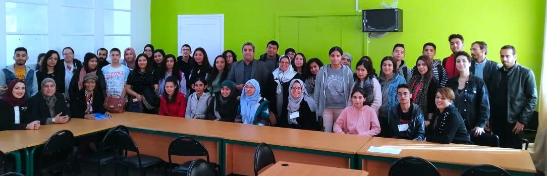 تلميذات وتلاميذ مجموعة مدارس المواطنة  بالإقصائيات الإقليمية للمسابقة التربوية للإملاء باللغة الفرنسية