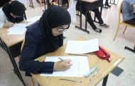 إجتاز تلاميذ السنة الثالثة ثانوي إعدادي  الامتحان الموحد المحلي التجريبي