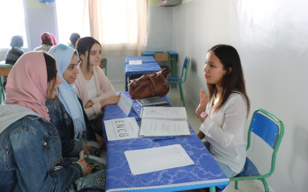 لقاء توجيهي لفائدة تلاميذ الجذع المشترك و الأولى و الثانية باكالوريا