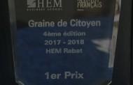 المواطنة بطلة الدورة الرابعة لمسابقة GRAINE DE CITOYEN