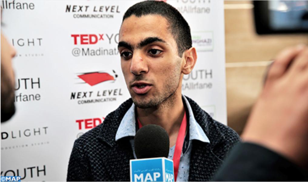 خريج المواطنة بهاء الدين البورقادي يبدع في تنظيم TED X العرفان