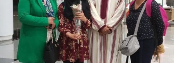 مريم صحيب وصيفة بطلة المسابقة الوطنية للمباريات اللغوية