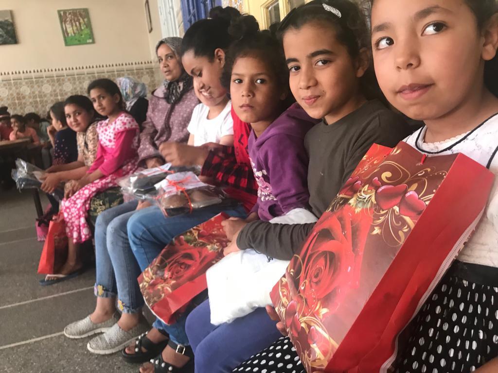 نادي التضامن ينجح في تنظيم مبادرة كسوة العيد