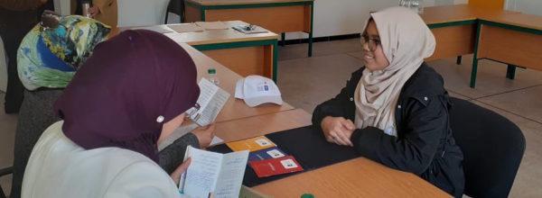 التلميذة نور السحباوي تتأهل للمرة الثالثة على التوالي للمسابقة الجهوية لتحدي القراءة العربي