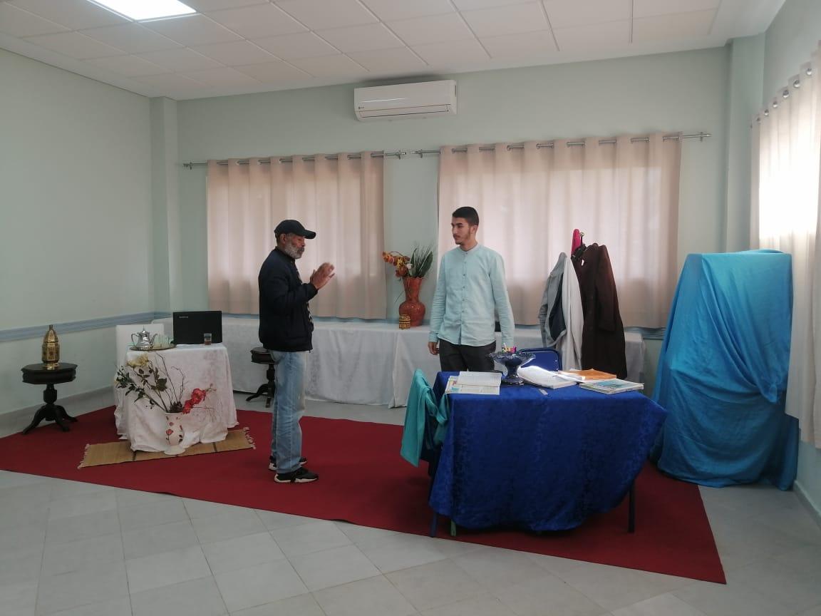 تحضيرات مسرح المواطنة للمشاركة في الإقصائيات الإقليمية  للمسابقة الوطنية لمسرح محمد الجم المدرسي