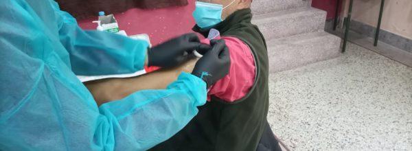 مشاركة أطر المواطنة ضمن الحملة الوطنية للتلقيح ضد فيروس كورونا