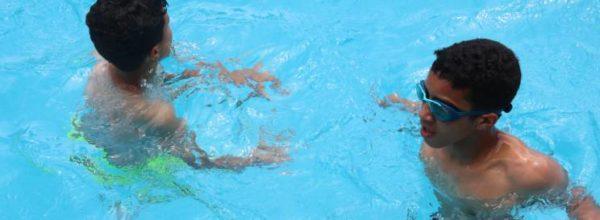 """سباحة وألعاب بفضاء """"Relais de Maamoura"""""""